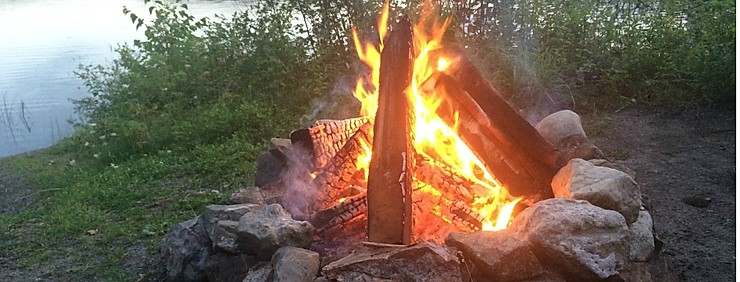 Camp Fire in Vancouver