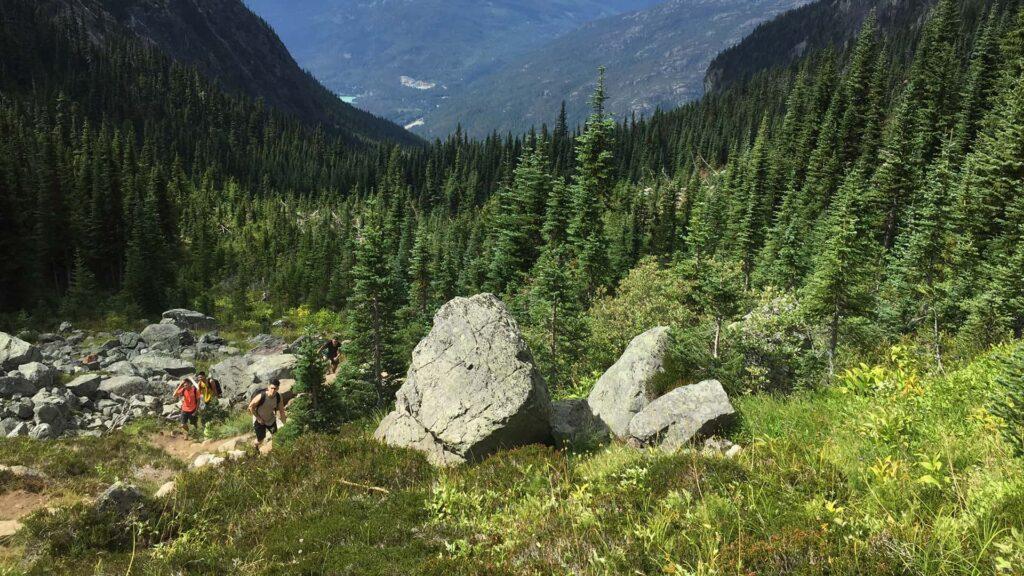 BeWild Adventures Wedgemount Lake Hike