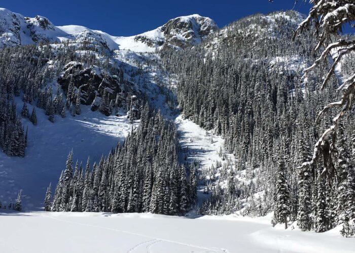 Joffre winter hike