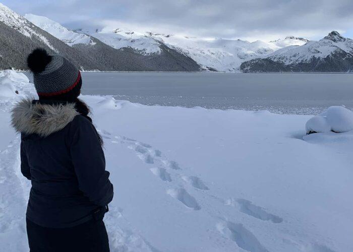 Garibaldi winter hike