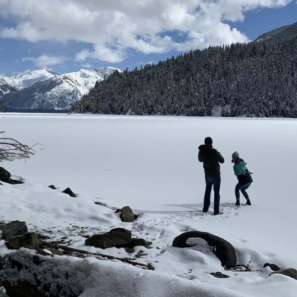 Cheakamus Lake Winter Snowshoe