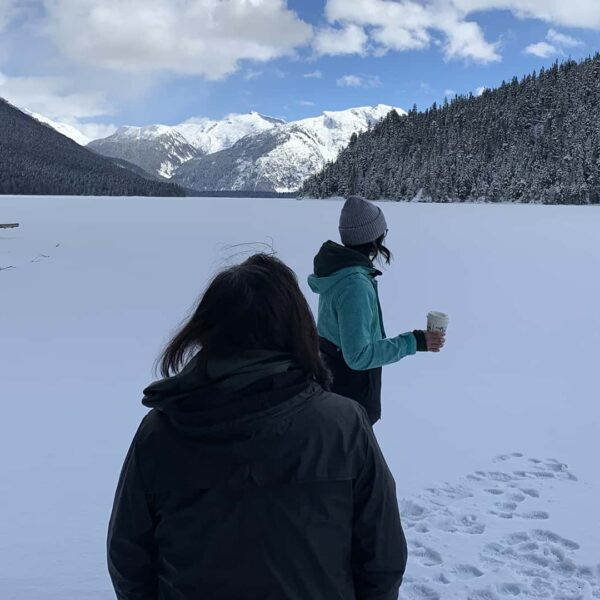 Cheakamus Lake Winter Snowshoe