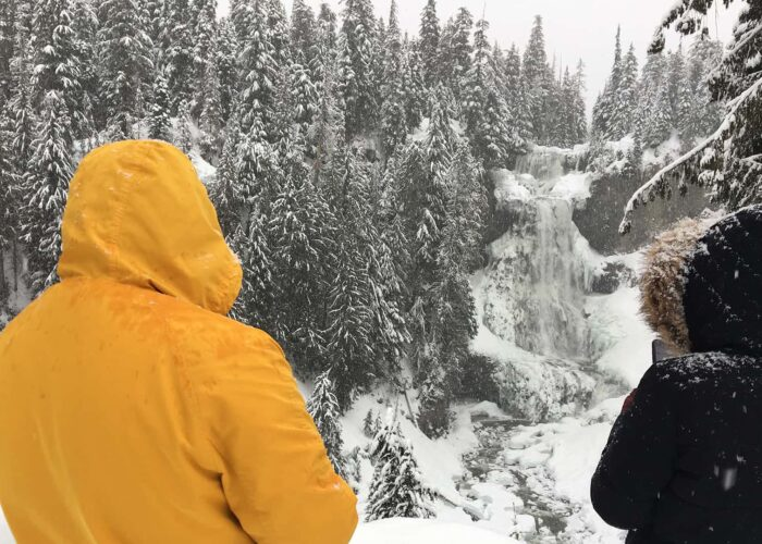 BeWild Adventures Waterfalls and Whistler Winter