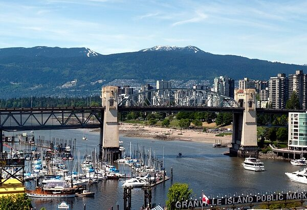View of Vancouver Bridge