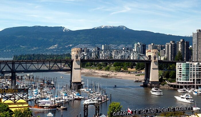 View of Vancouver Bridge