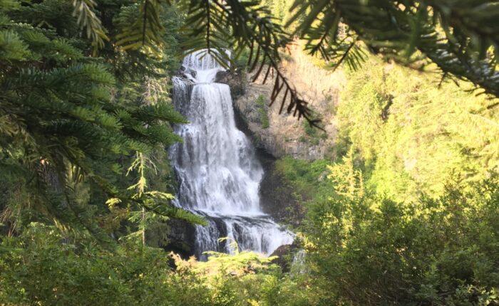 Waterfall near Whistler