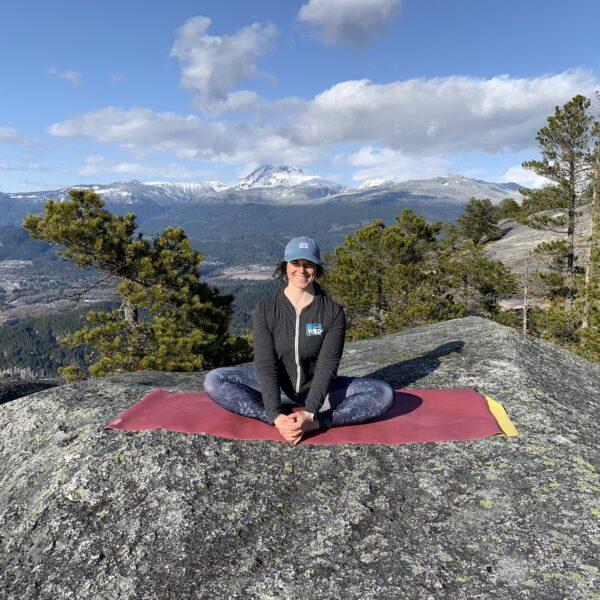 11Stawamus Chief yoga pose   BeWild! Adventures