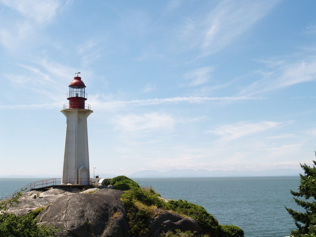 Lighthouse Park, a nice drive from Vancouver